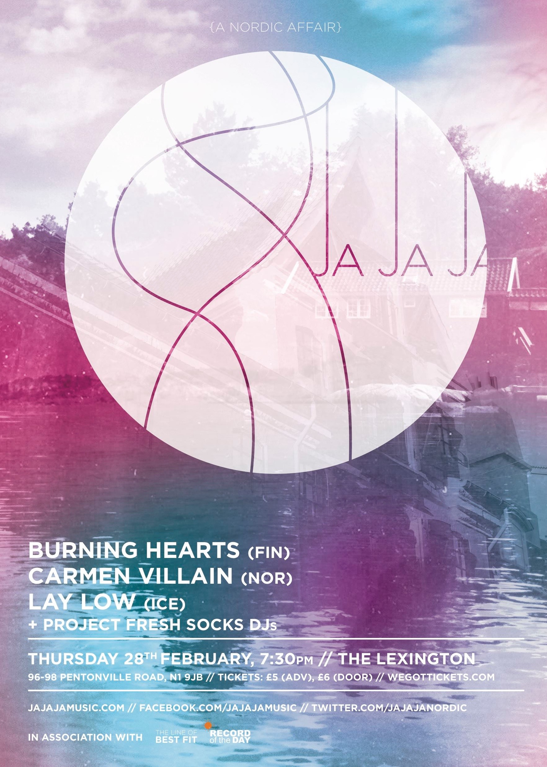 February 2013- Burning Hearts, Carmen Villain, Lay Low