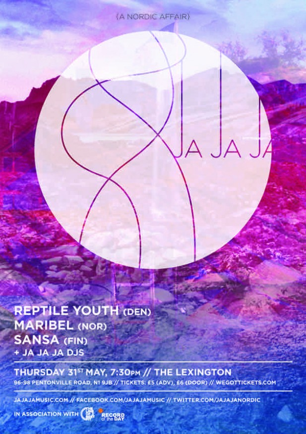 May 2012 – Reptile Youth, Maribel and Sansa