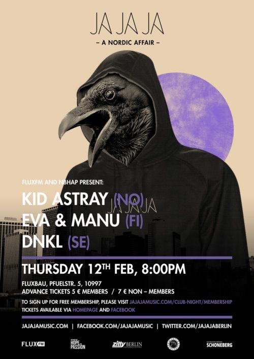 Berlin – January 2015 with Kid Astray, Eva & Manu and DNKL