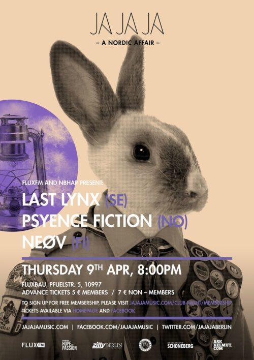 Berlin – April 2015 with Last Lynx, Psyence Fiction and NEØV