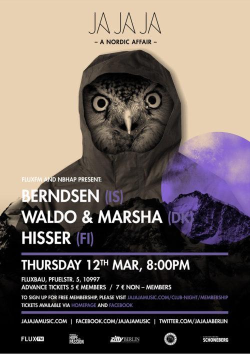 Berlin – March 2015 with Berndsen, Waldo & Marsha and Hisser