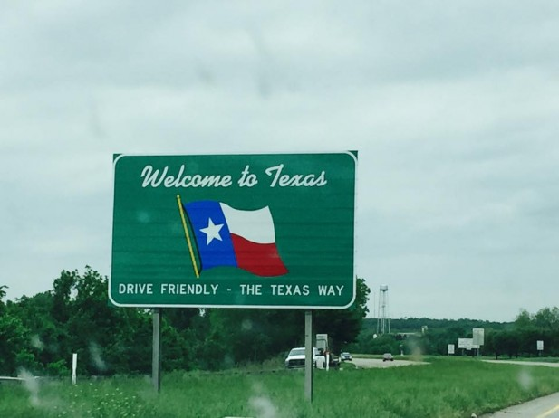 04 Crossing the Texas State Line and Driving THE TEXAS WAY