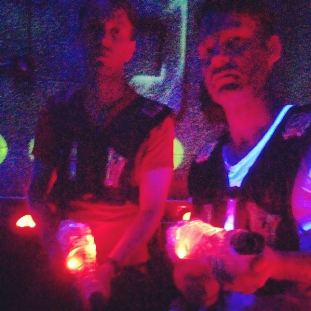 05 Have to stop off to beat up on some locals in El Paso, TX in Laser Tag