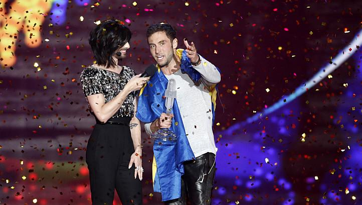 Sweden win the 2015 Eurovision Song Contest!