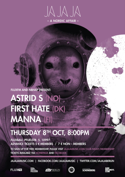Berlin – October 2015 with Astrid S, First Hate & Manna
