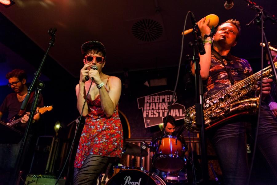 Reeperbahn Festival 2014, Angie's Nightclub, Ezra Furman & The Boyfriends