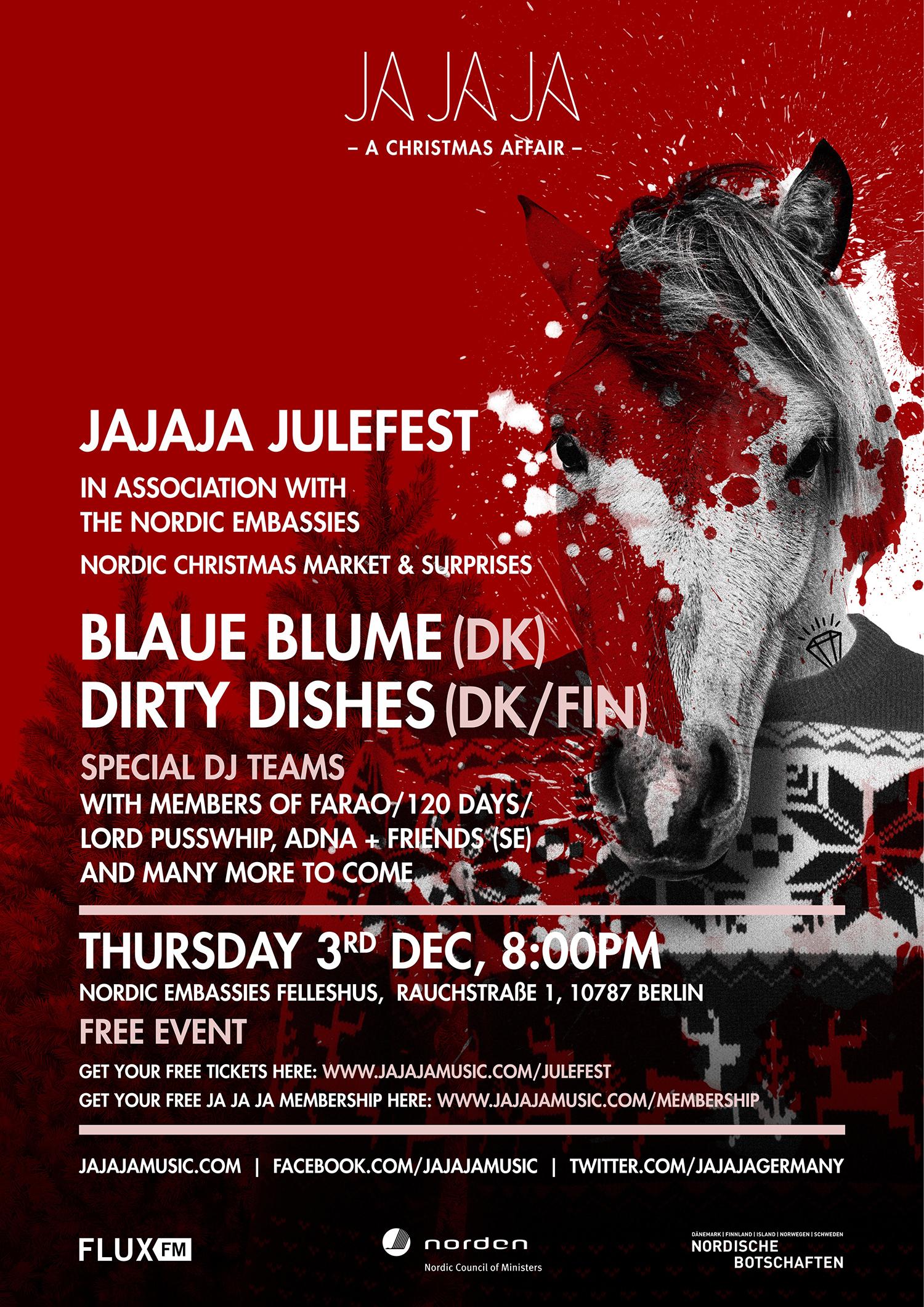 JaJaJa_Christmas_Horse_Poster JPG small