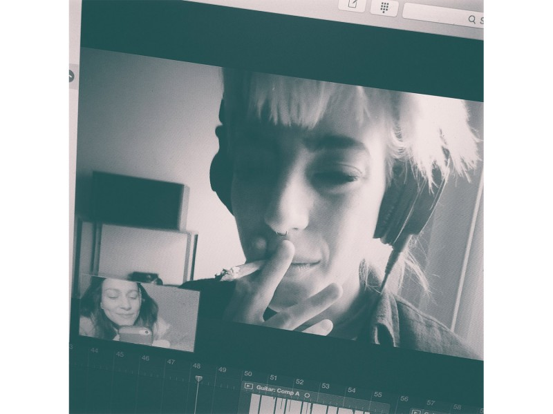 22.30 - Skype with Du Blonde