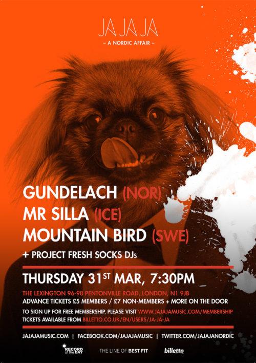 London – March 2016 with Gundelach, Mr Silla + Mountain Bird