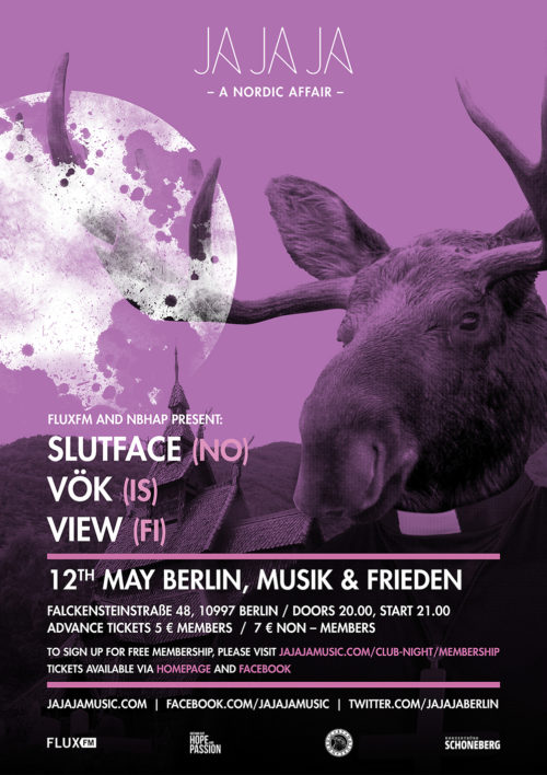 Berlin – May 2016 with Sløtface, Vök and View