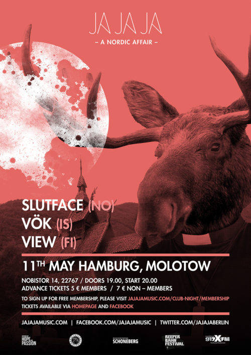 Hamburg – May 2016 with Sløtface, Vök and View