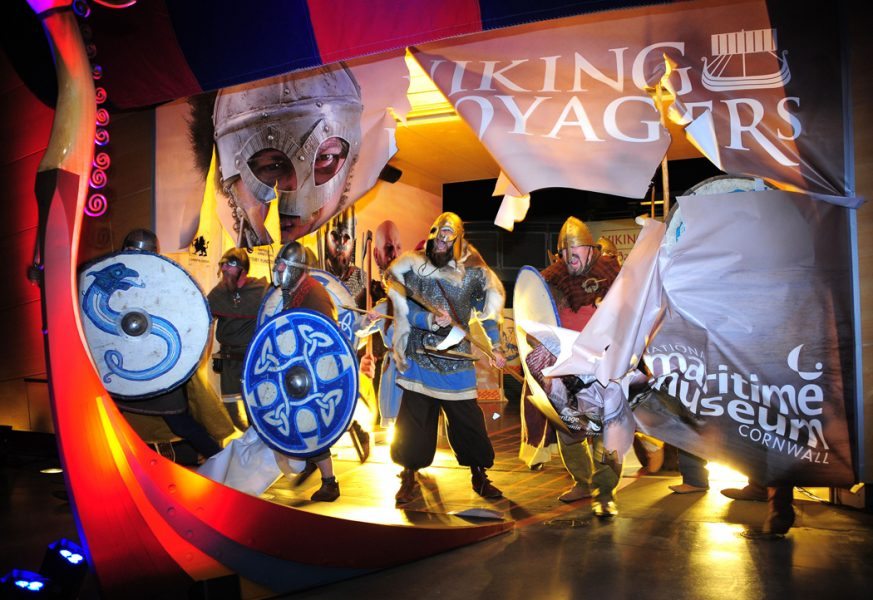 Viking-Voyagers-at-the-National-Maritime-Museum-in-Cornwall
