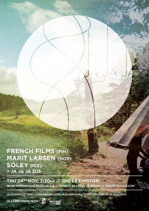 November 2011 – French Films, Marit Larsen & Sóley