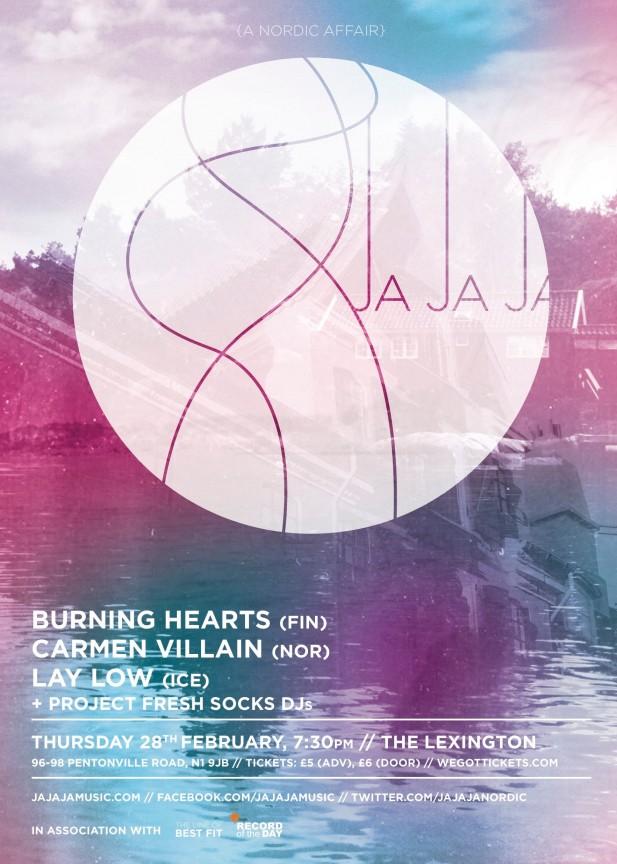 February 2013- Burning Hearts, Carmen Villain, Lay Low