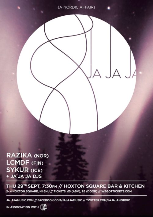 September 2011- Razika, LCMDF & Sykur