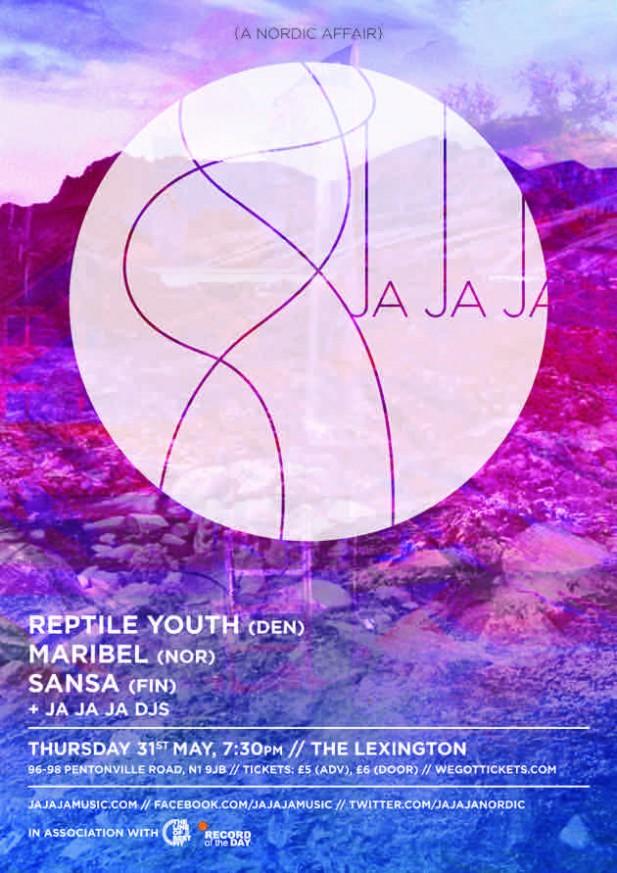 May 2012 – Reptile Youth, Maribel and Sansa