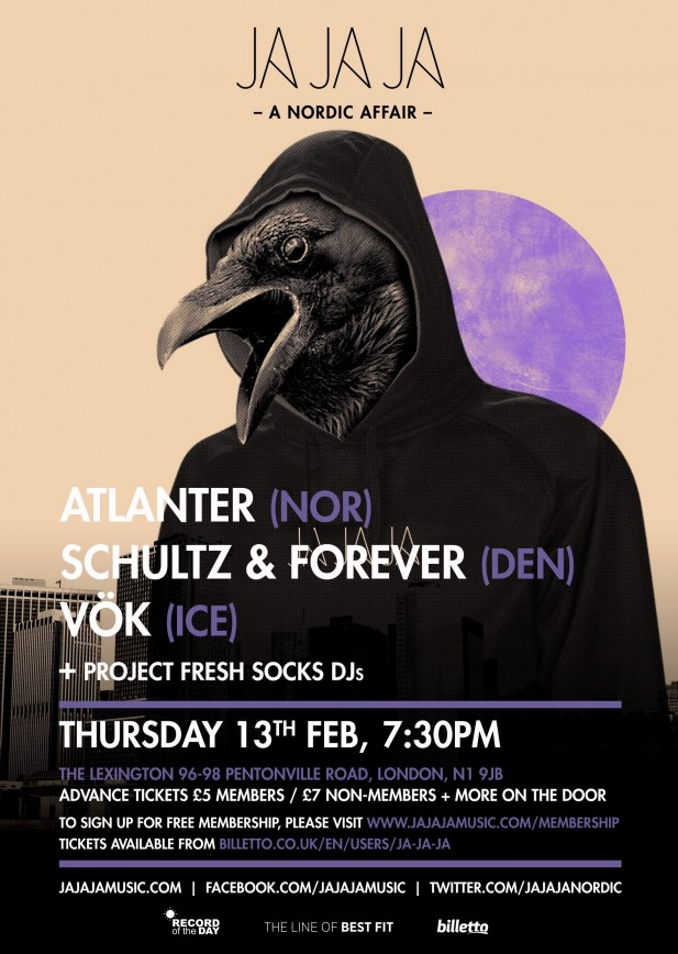February 2014 – Atlanter, Schultz & Forever and Vök