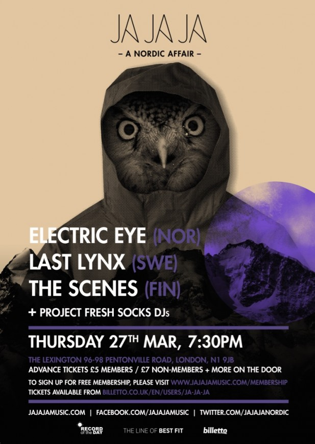 March 2014 – Electric Eye, Last Lynx, The Scenes