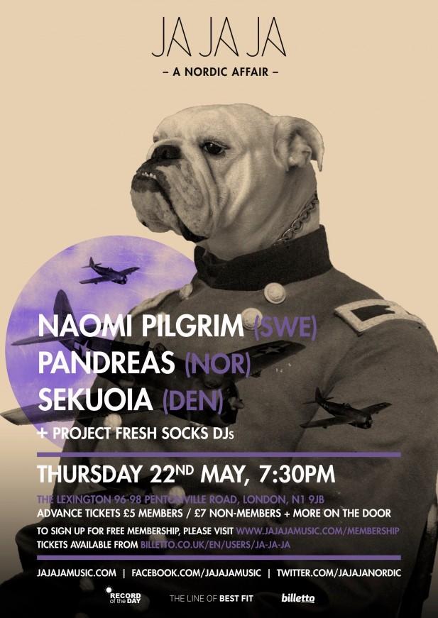 May 2014 – Naomi Pilgrim, Pandreas & Sekuoia