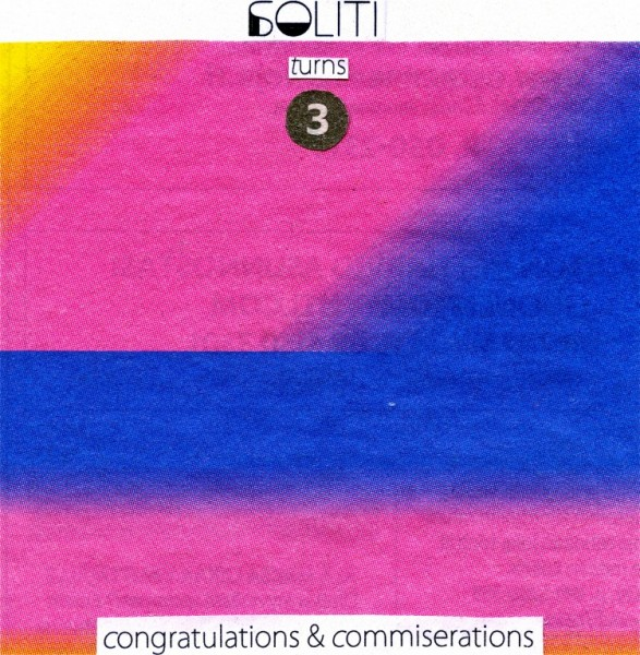 Download: Soliti turns three – Congratulations & Commiserations