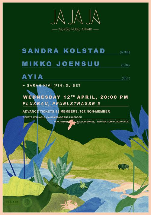 Berlin – April 2017 with Sandra Kolstad, Mikko Joensuu, aYia