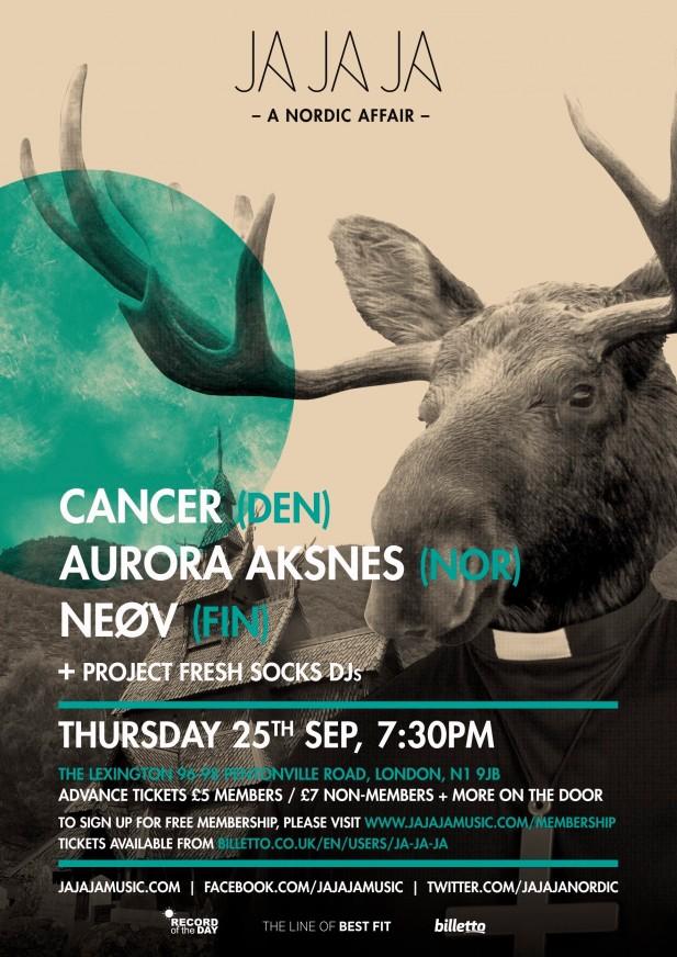 September 2014 – Cancer, Aurora Aksnes, NEØV