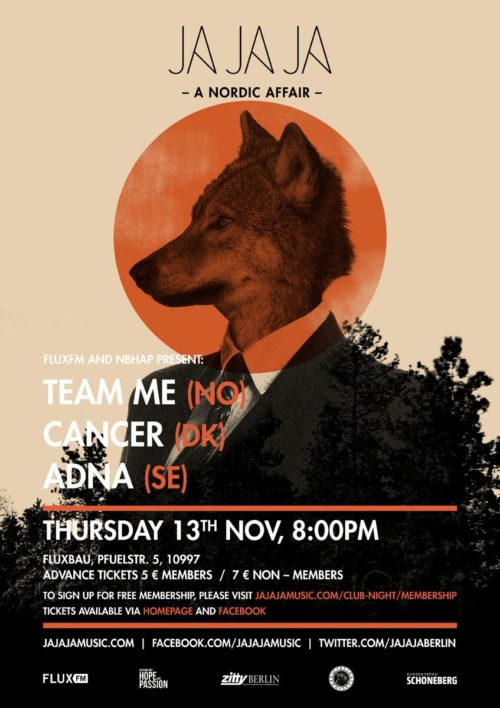 Berlin – November 2014 with Team Me, Cancer and Adna