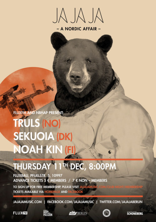 Berlin – December 2014 with Truls, Sekuoia and Noah Kin