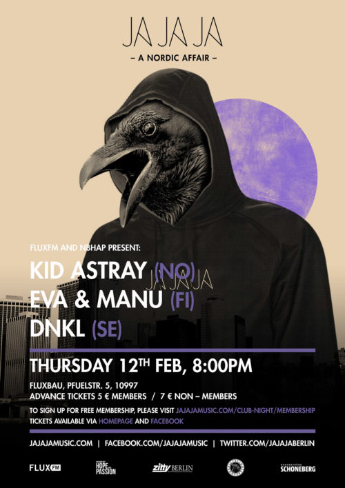 Berlin – January 2015 with Kid Astray, Eva & Manu and DNKL