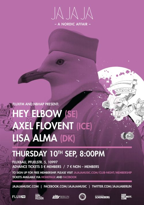 Berlin – September 2015 with Lisa Alma, Hey Elbow and Axel Flóvent