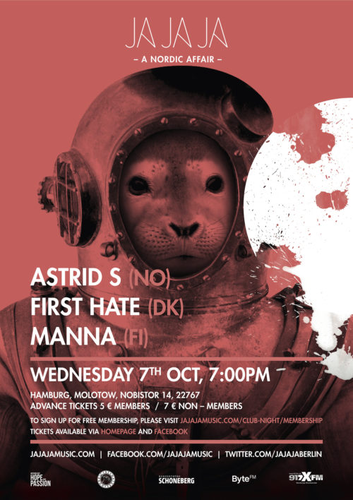 Hamburg – October 2015 with Astrid S, First Hate & Manna