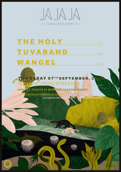 Ja Ja Ja Berlin: September 2017 with The Holy, Tuvaband + Wangel