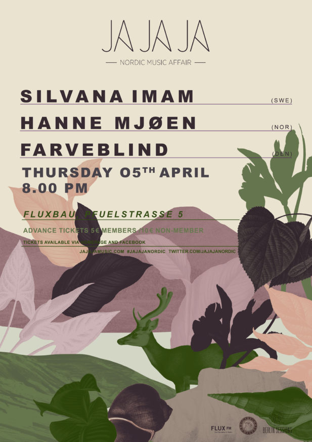Ja Ja Ja Berlin: April 2018 with Silvana Imam, Hanne Mjøen, Farveblind
