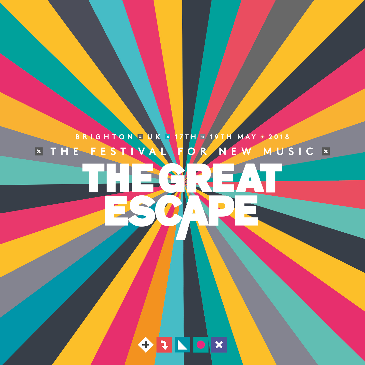 WIN! A Pair of tickets to 2018's Great Escape Festival in Brighton!