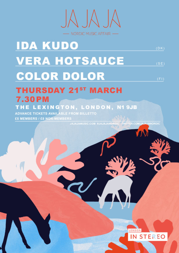 Ja Ja Ja London: March 2019 with IDA KUDO, Vera Hotsauce + Color Dolor