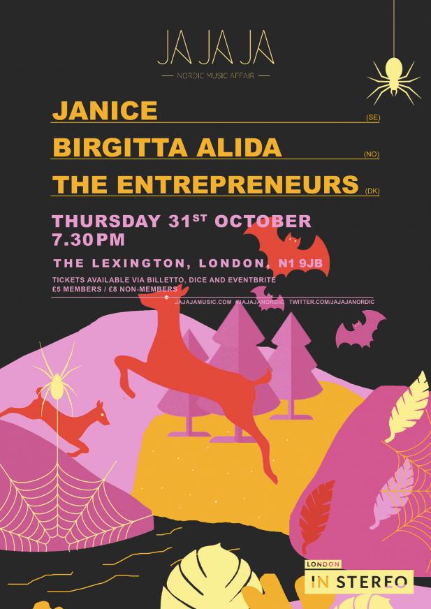 Ja Ja Ja London: October 2019 with Janice, Birgitta Alida + The Entrepreneurs