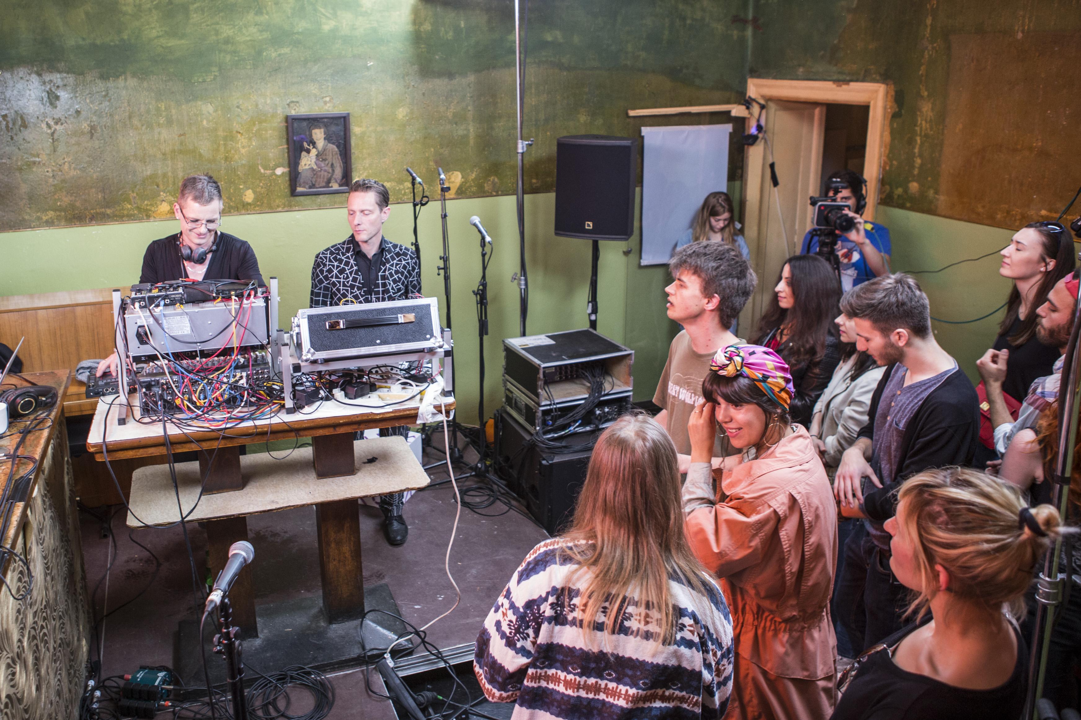 Watch GusGus perform live at the Nordic Playlist Radio Bar, Berlin!