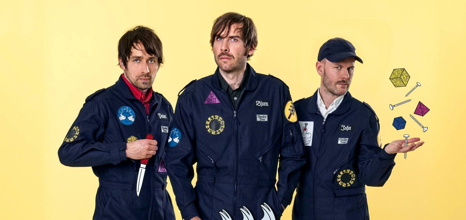 Peter Bjorn and John reveal their latest single 'Dominos'!