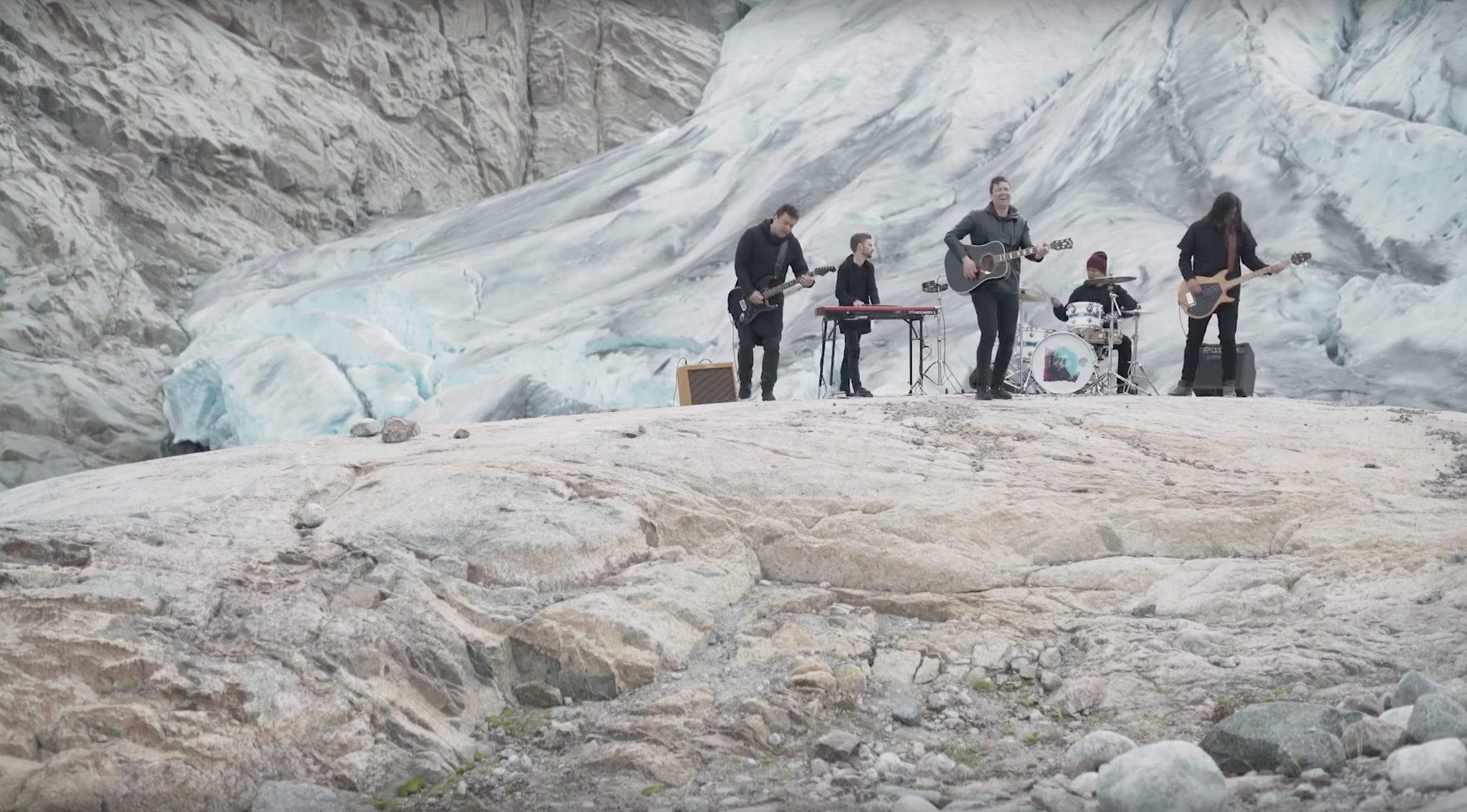 Greenland's Nanook address climate change in their latest video…
