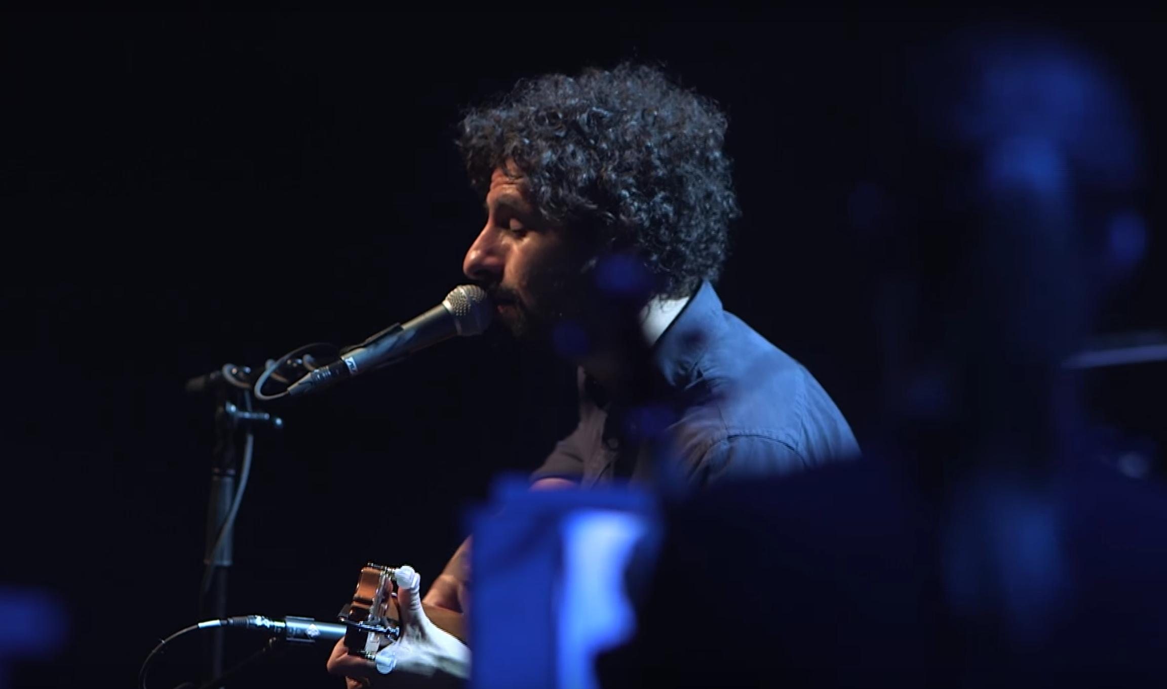 Watch a stunning live rendition of José González's 'Let It Carry You'!