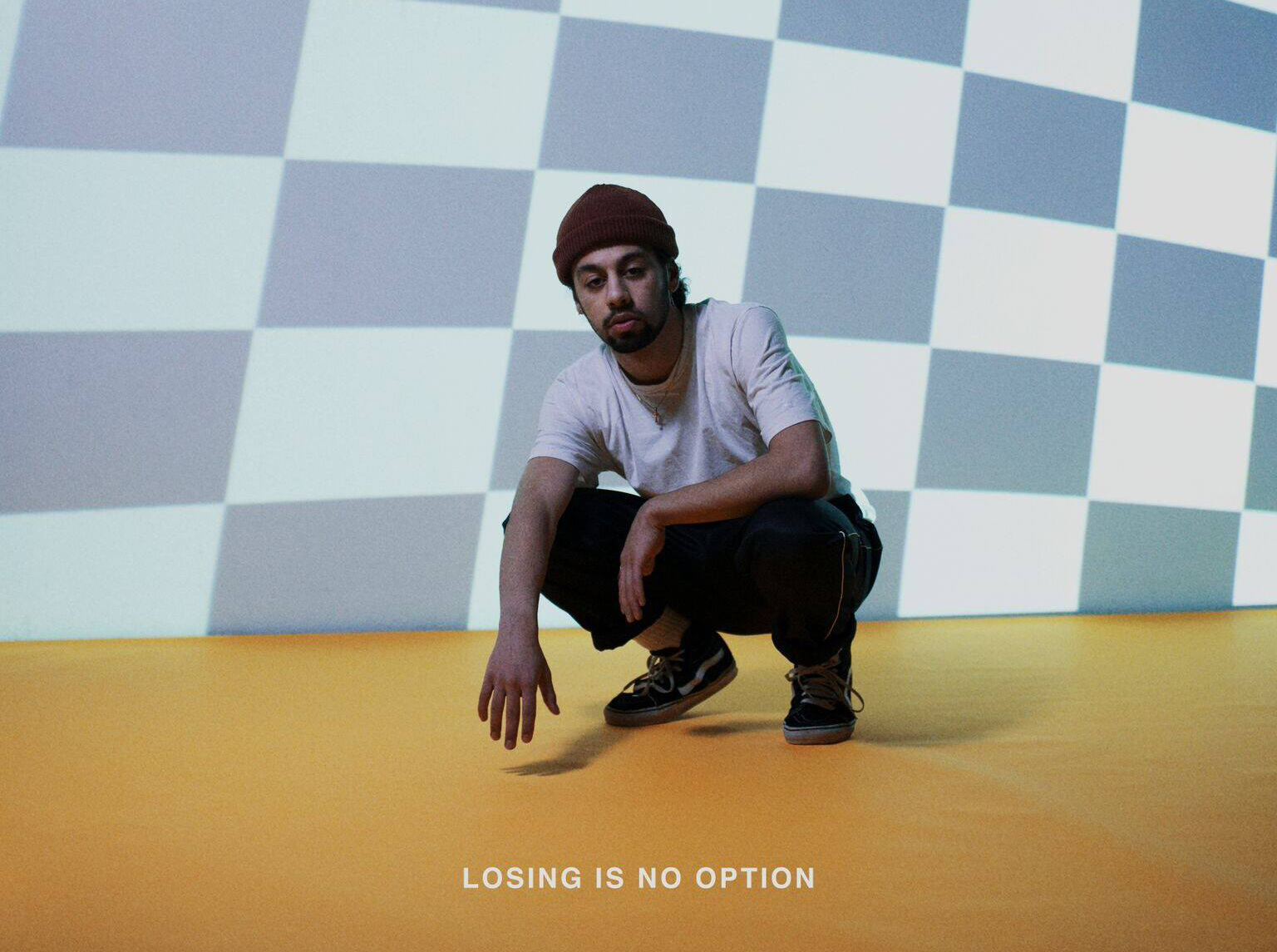 Helsinki rapper Biniyam drops new track 'Losing Is No Option'!