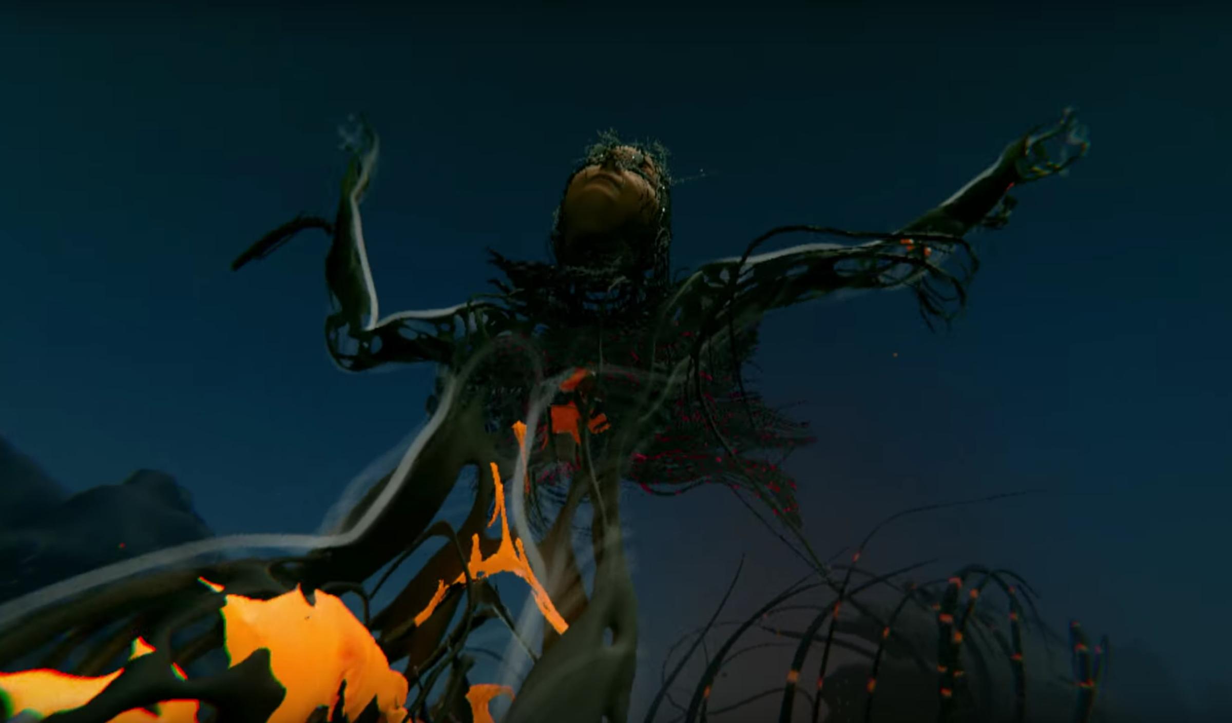 Björk shares the epic VR video for 'Notget'!